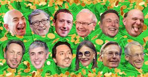 12 Top Billionaires image